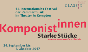 12. Internationales Festival der Kammermusik in Kempten (Allgäu)